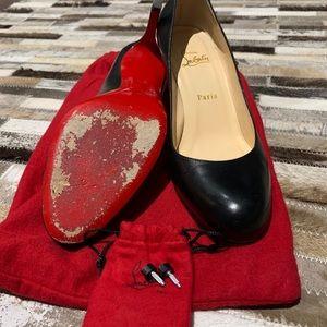 Christian Louboutin Shoes - Christian Louboutin Simple black pump 70mm heel